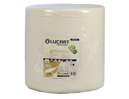 EcoNatural 3 Ply 1000 Sheet Wiping Roll
