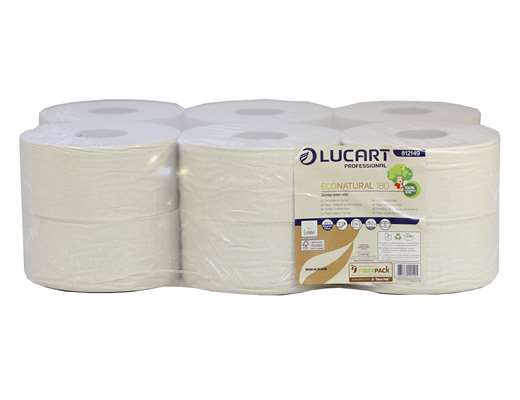 EcoNatural Mini Jumbo 2 Ply Toilet Roll