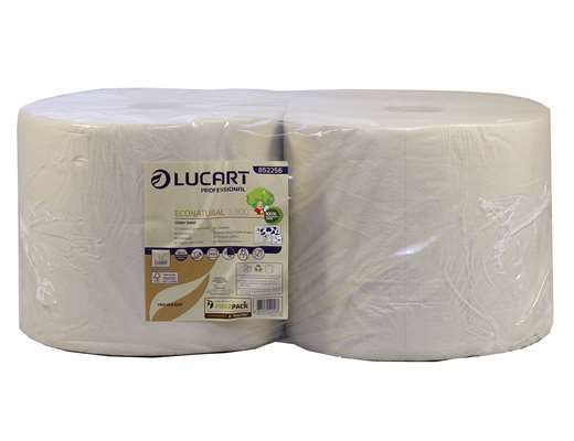EcoNatural 3 Ply Wiping Roll