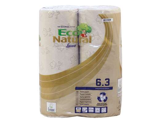 EcoNatural Toilet Rolls 3 Ply 250 sheet Havana