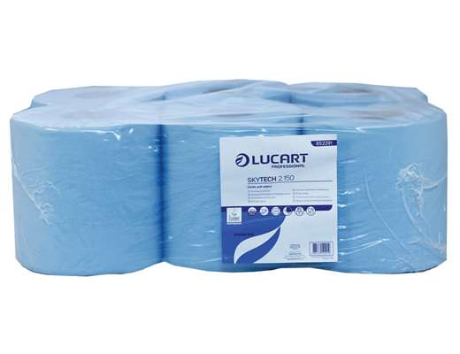 SkyTech Blue Recycled Centrefeed Roll