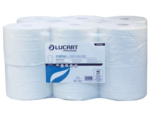 L-ONE Rolls Strong 2 Ply White