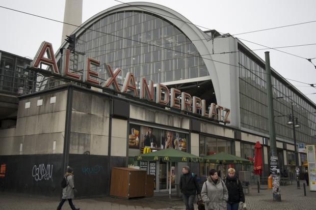 Вокзал Alexanderplatz