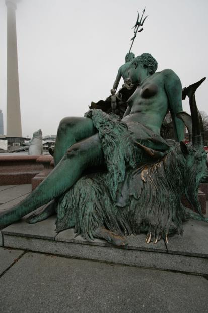 Берлин - Фонтан Нептуна
