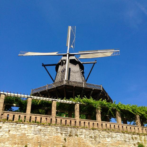 Историческая мельница Потсдам