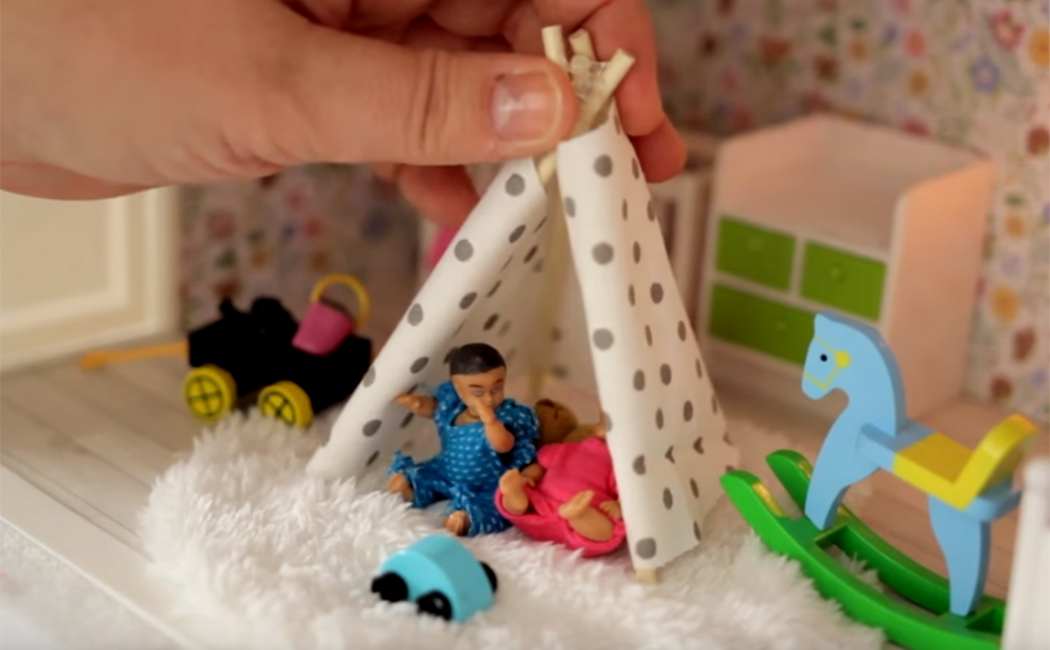 Play tent Lundby