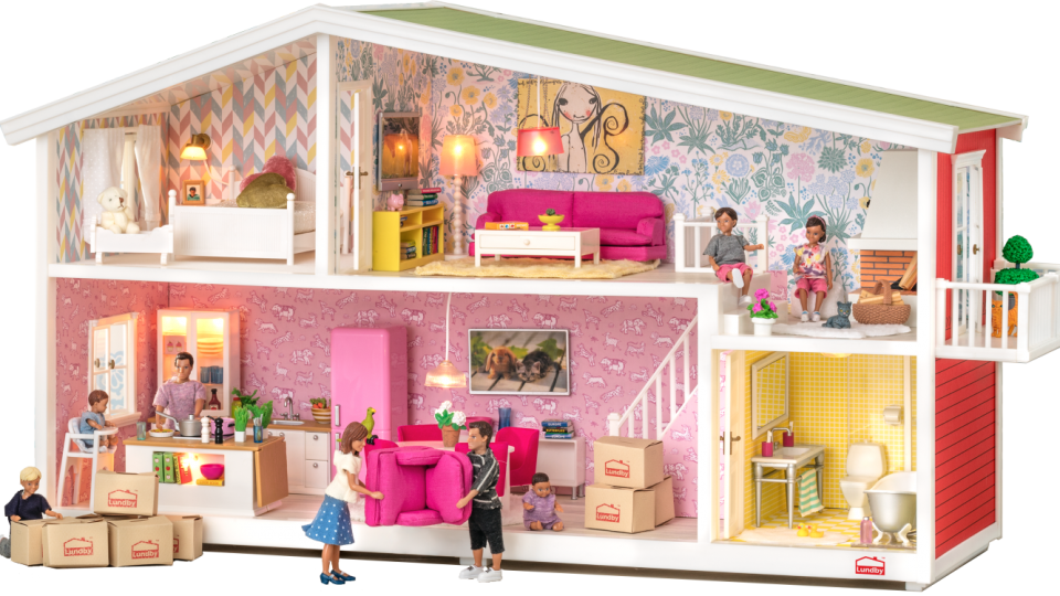 Doll S Houses With Room For Imaginative Play Lundby