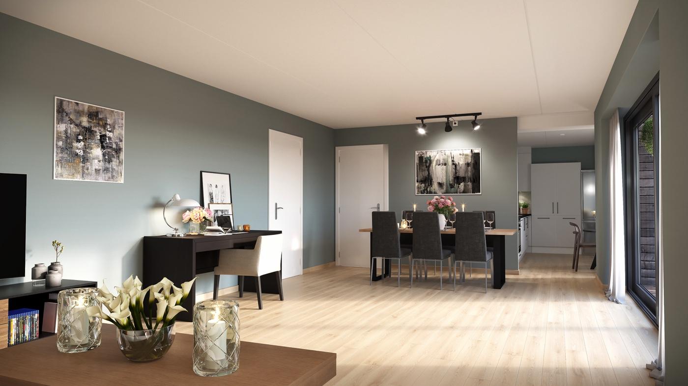 Gled deg over all tiden du sparer på vedlikehold ved å flytte inn i en helt ny bolig.