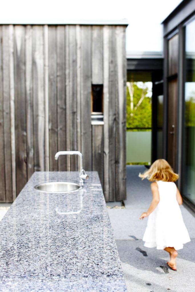 Lundhs Royal benkeplate i stein til utekjøkken