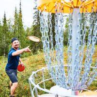 Pyhä-Luosto Open frisbeegolfkisat 26.-28.7.2019