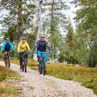 Pyhä-Luosto MTB maastopyöräilyreitin avajaistapahtuma ja kilpailu 19.8.2017.