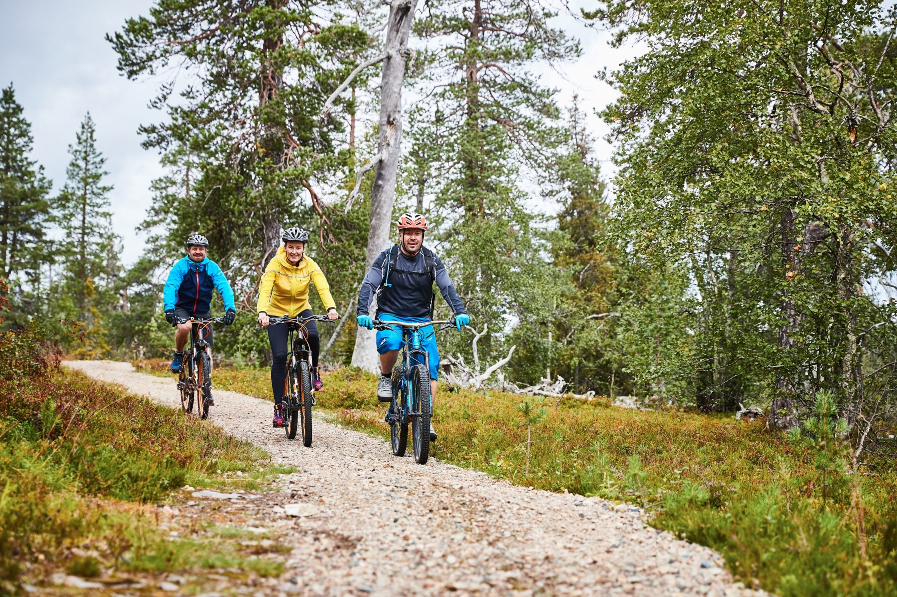 Maastopyöräilyä Luostolla - Pl Matkailu Maastopyöräily Web 103