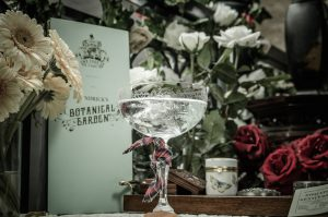 For a warm weather treat, imbibe a gin cocktail in Hendrick's Botanical Garden