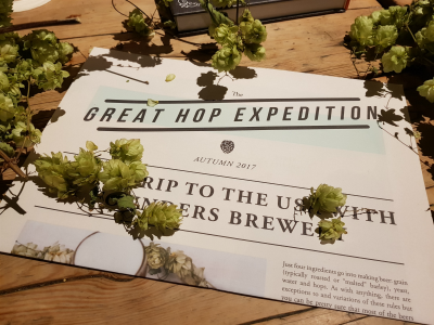 Youngs Great Hop Expedition Invite