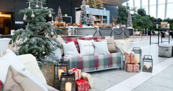 Sky Gardens Christmas winter decorations