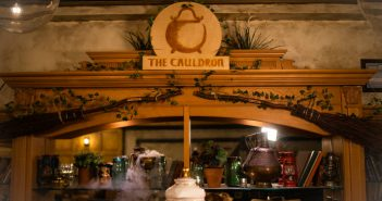 The Cauldron bar and sign