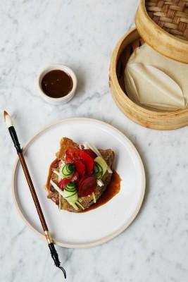Andrew Wong Kyms duck pancake