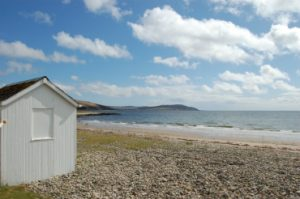 annan-hut Isle of Arran