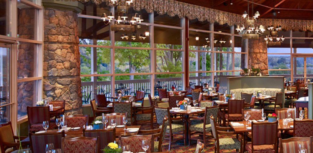 Eclipse Restaurant at historic Deerhurst Resort in Huntsville
