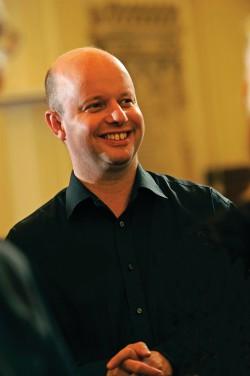 Bristol Cathedral concert conductor David Ogden. (Photo: Louise Broom)