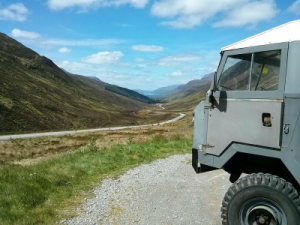 Scotland's North Coast 500 and Land Rover