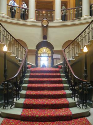 The principal staircase at Tom Graham Culzean castle