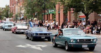 Collingwood Elvis Festival main street parade