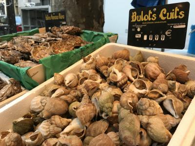 Street market l'escargots