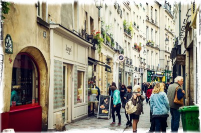 le Marais shopping