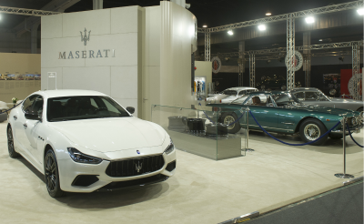 Padua show Maserati booth