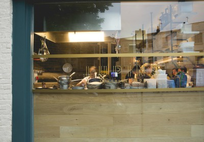Lupins Restaurant small kitchen great food