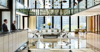 Langham Chicago lobby