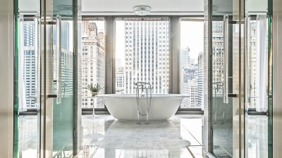 Langham Chicago bathroom