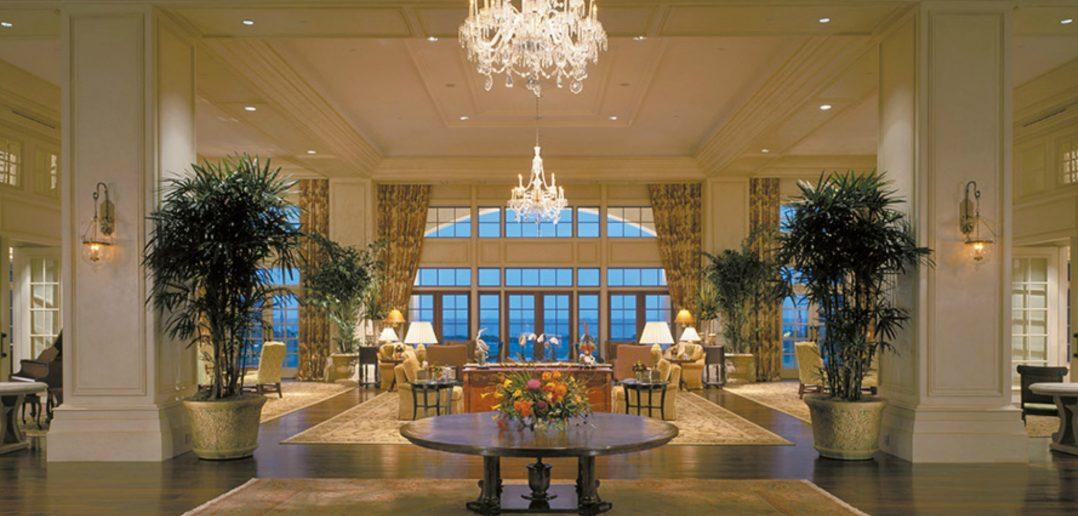 Sanctuary Hotel South Carolina lobby