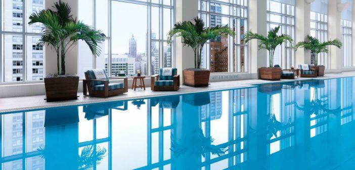 Peninsula Chicago indoor pool