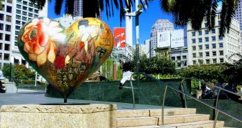 Hearts of San Francisco Union Square