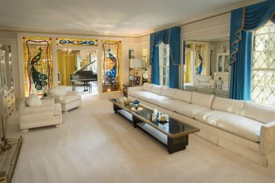 Graceland complex Elvis Presley home