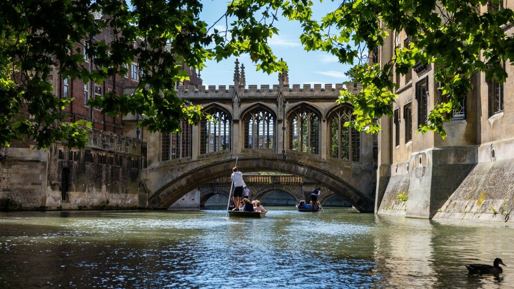 Top Luxury Hotels in Cambridge punting on river Cam