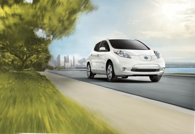 top electric cars in Canada Nissan Leaf