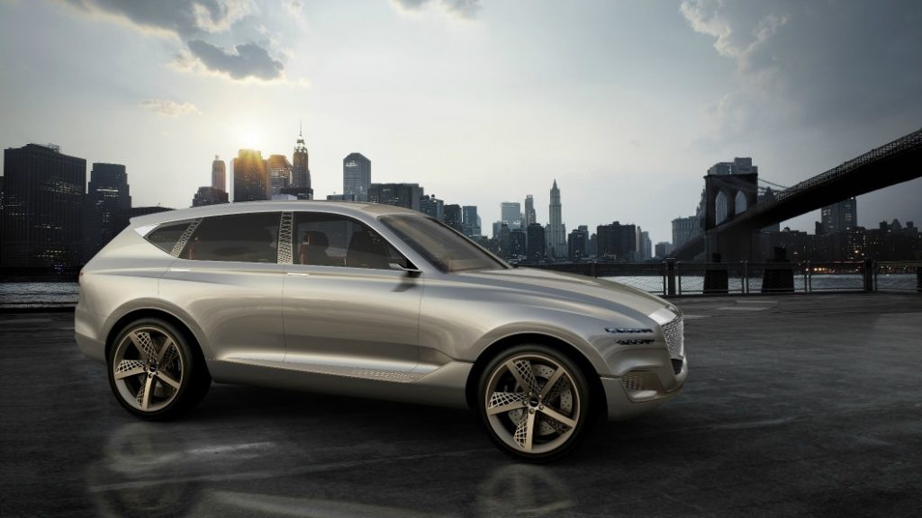 Genesis Reveals its First Luxury SUV — The GV80