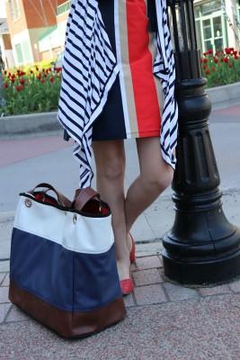 drop nautical handbags street corner