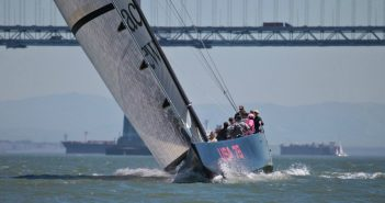 Getting Around San Francisco aboard a racing yacht and see Golden Gate Bridge