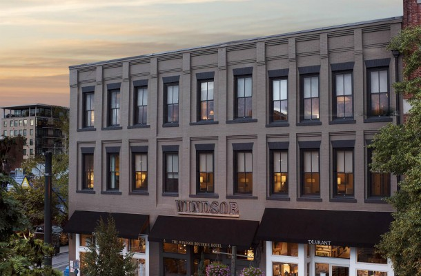 The Top Boutique Hotels in Asheville, NC, Windsor Boutique Hotel Exterior