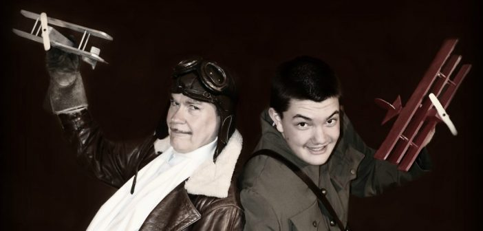 Muskoka Lakes Summer Theatre with actors of Billy Bishop Goes to War