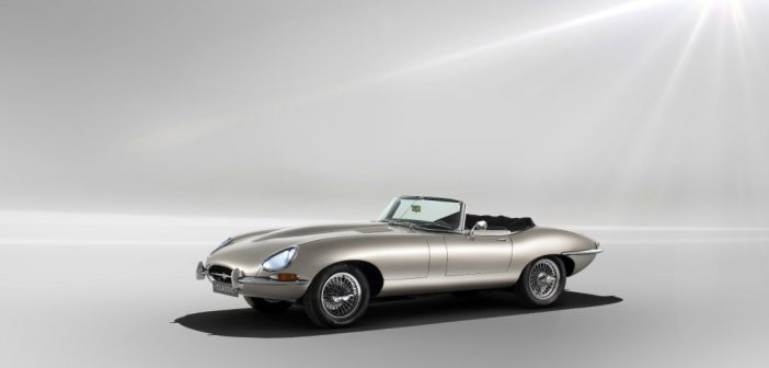 Jaguar E-Type Zero looking good
