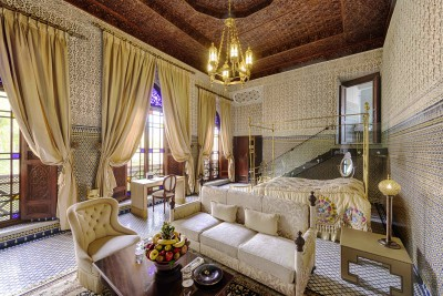 Riad Fes luxurious suite