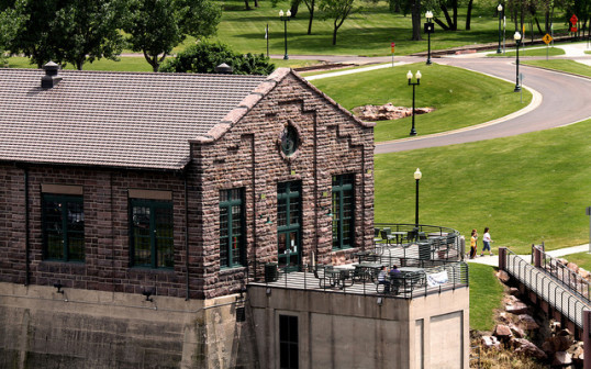 The Top Things To Do in Sioux Falls with the Falls Overlook Cafe