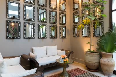Jnane Tamsna Boutique Hotel interagir luxury sitting room