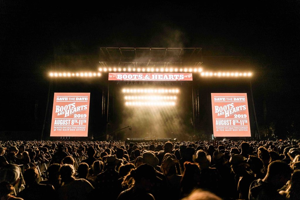 Boots and Hearts Music Festival Returns to Orillia Ontario
