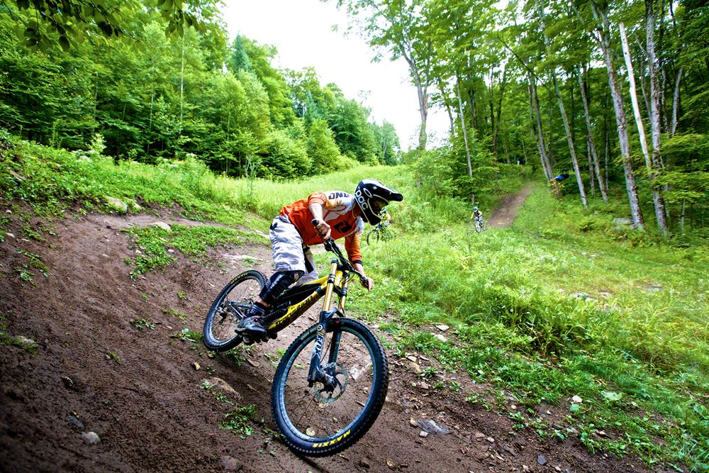 Mountain Biking at Sir Sams Resort in the Haliburton Highlands of Ontario